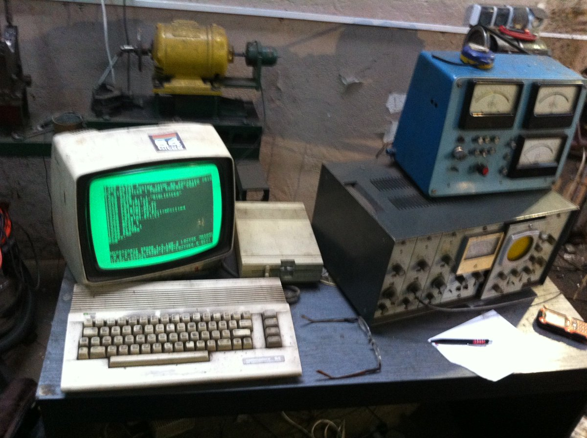 Car workshop from Gdansk still uses Commodore 64