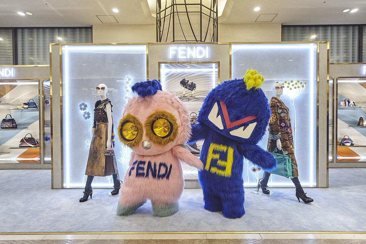 best sneakers 13167 04a1c FENDI JAPAN on Twitter: