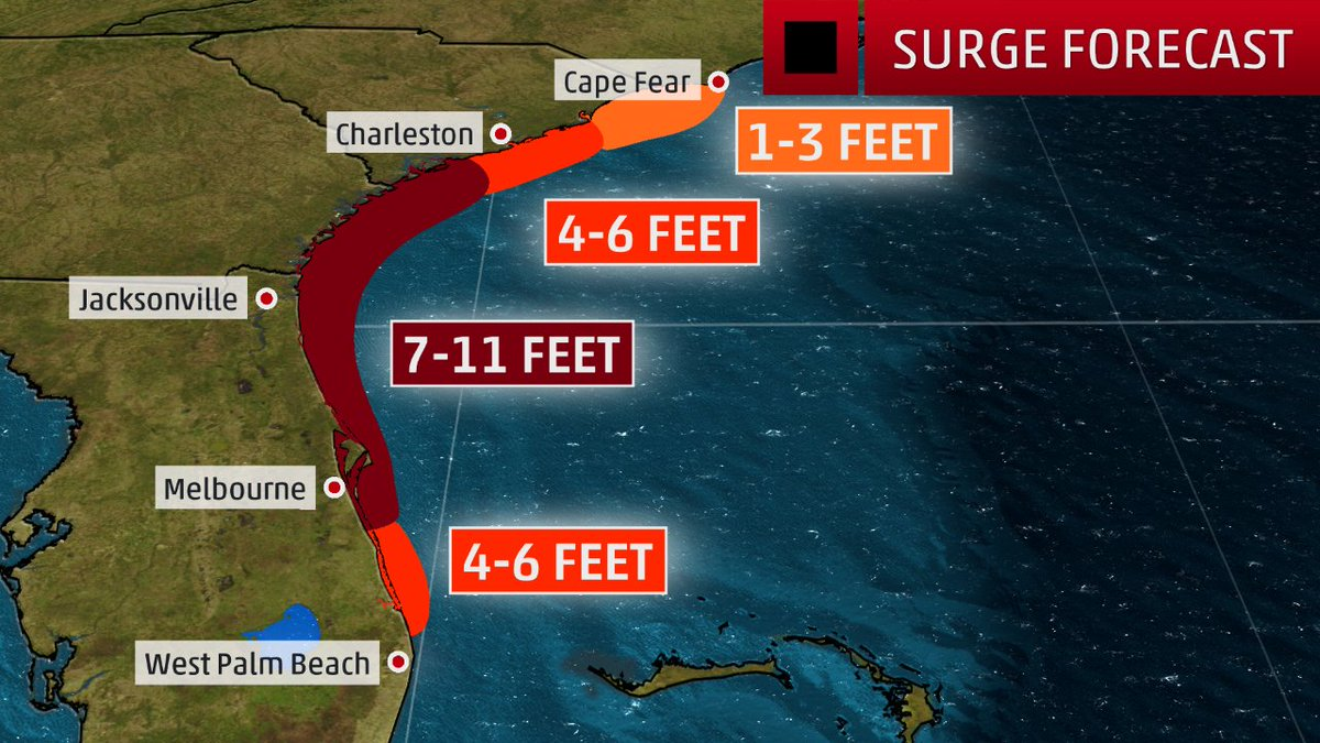 Hurricane Matthew Southeast Coast Discussion Thread - Page 6 CuKztlQXYAArZRT