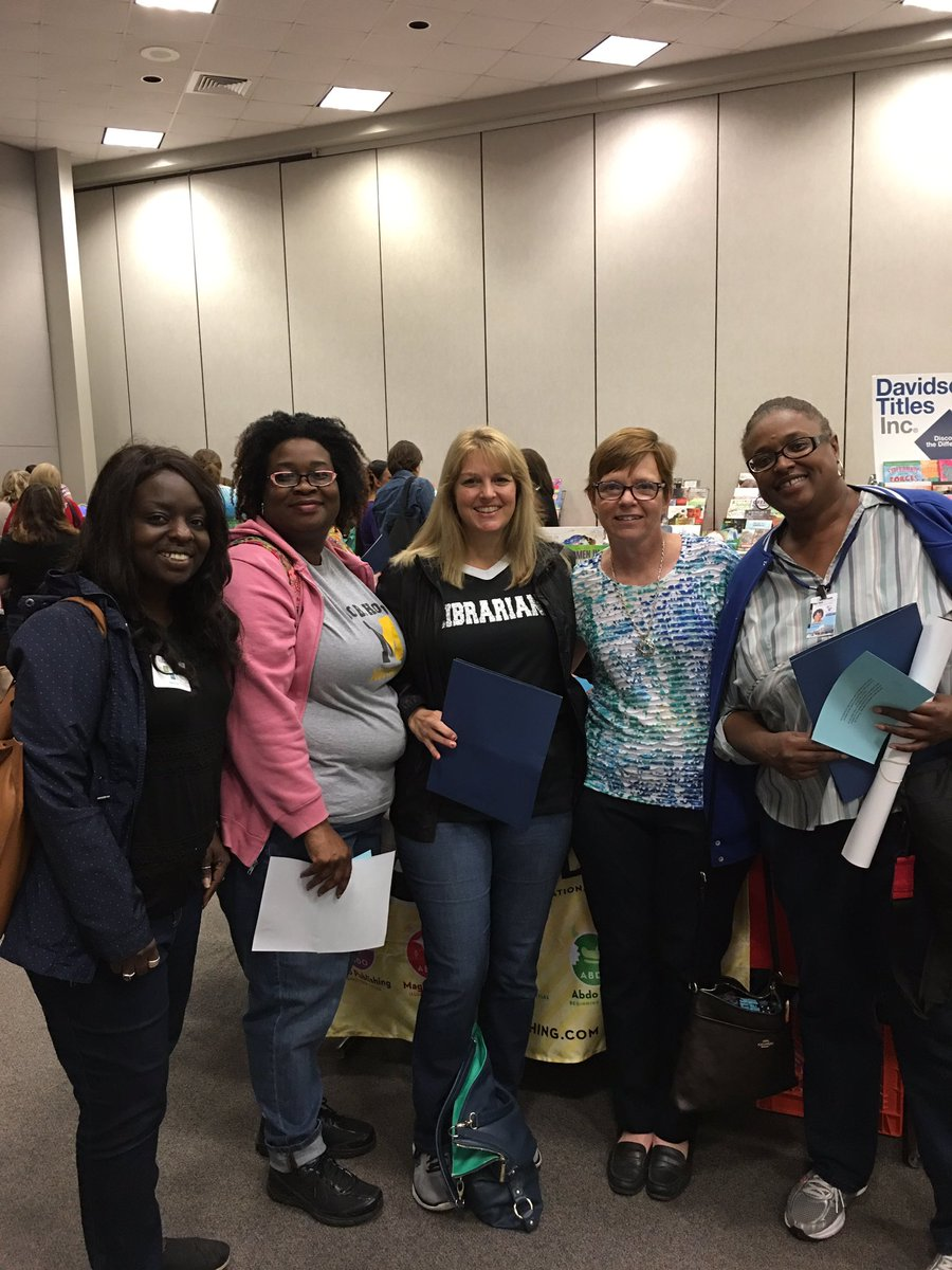 Dallas librarians at Library Expo 2016! @DISD_Libraries