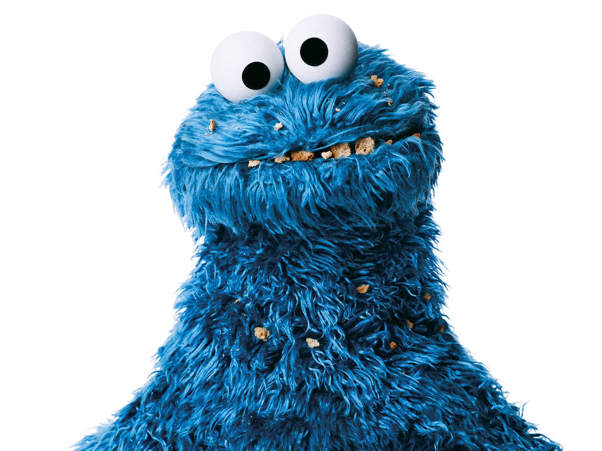 "Cookie Monster on Twitter: ""If only me knew it was # ... Cookie Monster"