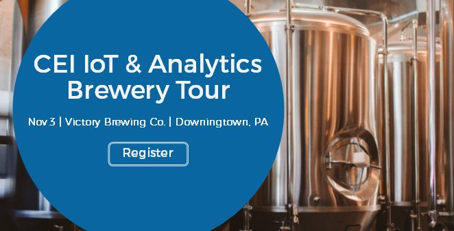Cei On Twitter The Microsoft Iot Analytics Brewery Tour Is