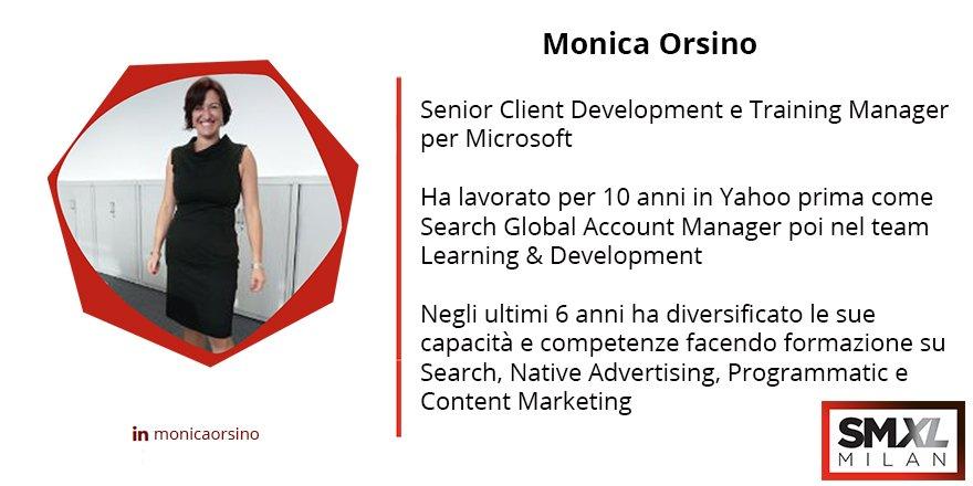 "SMXL Milan on Twitter: ""Monica Orsino, Senior Client Development e ..."