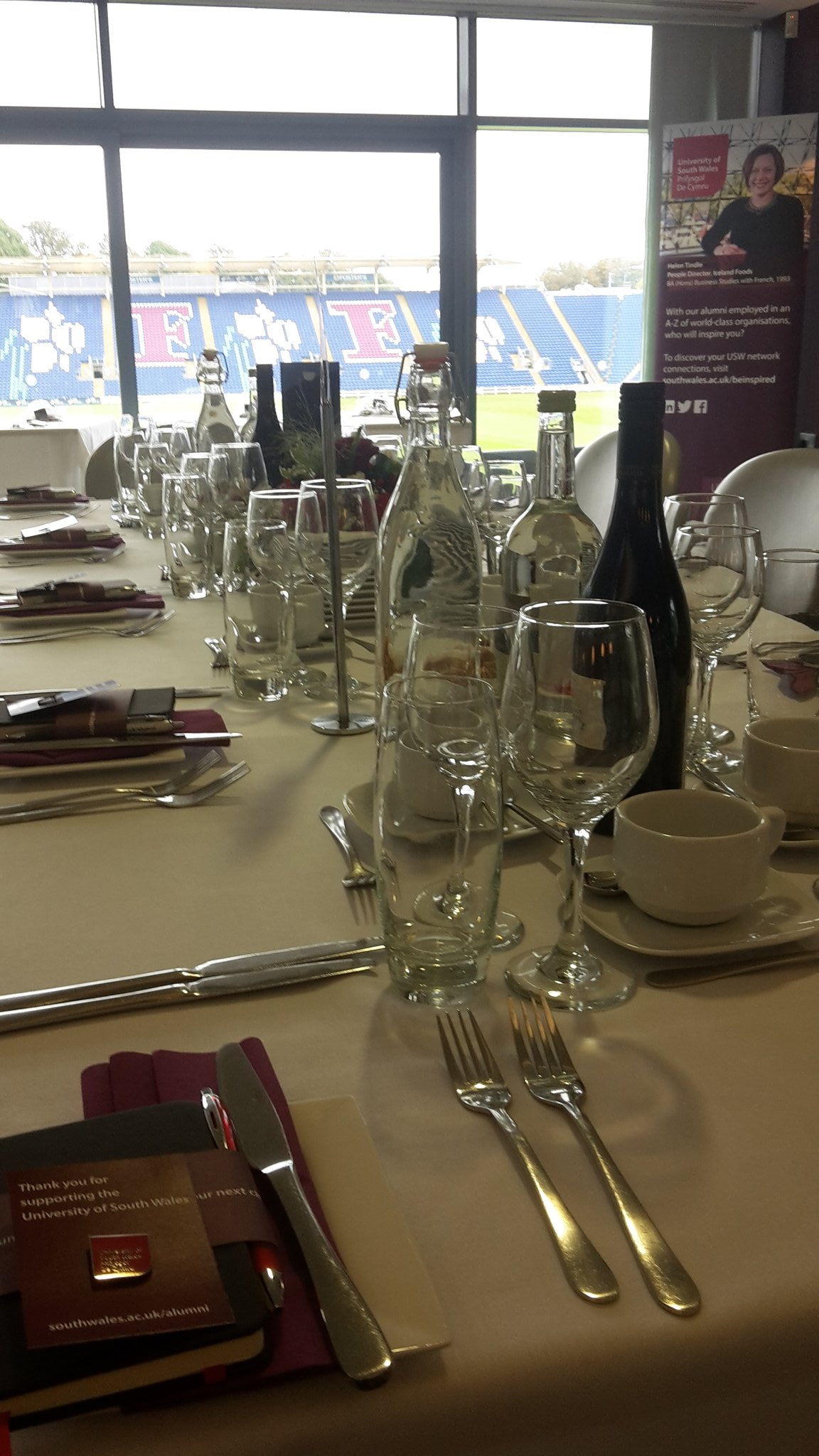 All ready for #USWAlumniAwards and Supporter Reception @GlamCricket this evening.. https://t.co/74rq14SeYD