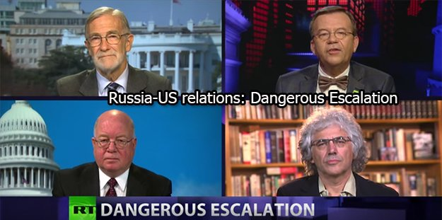 Peter Lavelle&#39;s @PLCROSSTALK #CrossTalk on Russia-US relations: Dangerous Escalation <br>http://pic.twitter.com/rx7OuGYJR2 #News #Syria #Russia #US #Isael