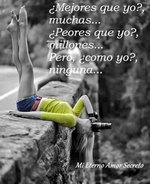 #Mejores q yo ?  Muchas ... #Peores q yo? Millones.....#LaHoraChachi275  #Pero , Como yo, Ninguna #LaHoraChachi276  #Amando #seryo #realpic.twitter.com/an1q3YQPSv