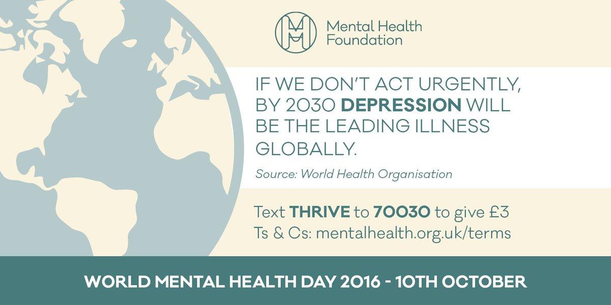 mental health fdn on twitter tomorrow is