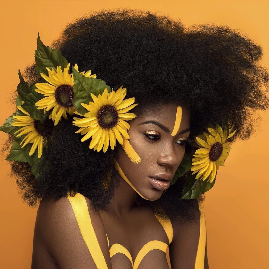 Dopeblackart Featuring Danielledesireexoxo Ig Dope Blackart Sunflowers Melanin Blackisbeautiful Emment Gaia Earthpic Twitter