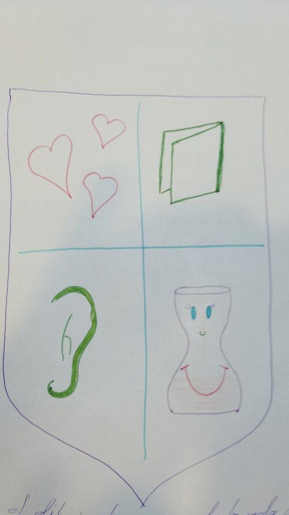 Cual podria ser el escudo de armas de un docente? #NuevaEducacion16 https://t.co/QdX500dYR9