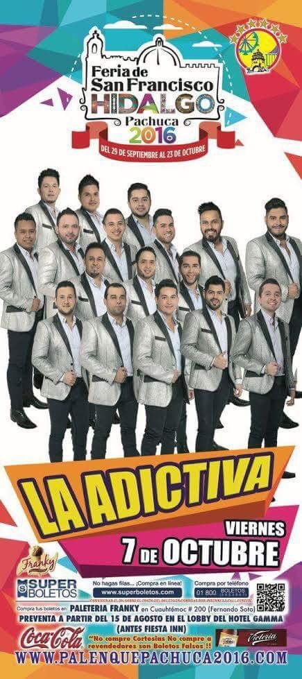 Memo Garza On Twitter Hoy Hay Nocheadictiva Palenquedepachuca