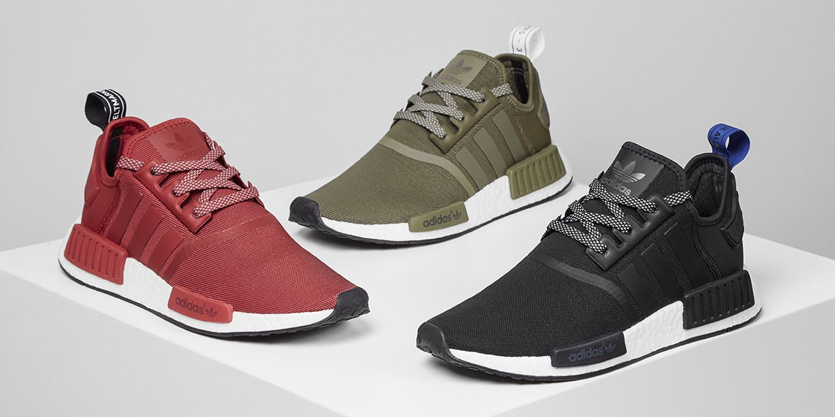 bb95cd3f6bb Triple threat. The latest men s  NMDs are here featuring two  JDExclusives!  Be