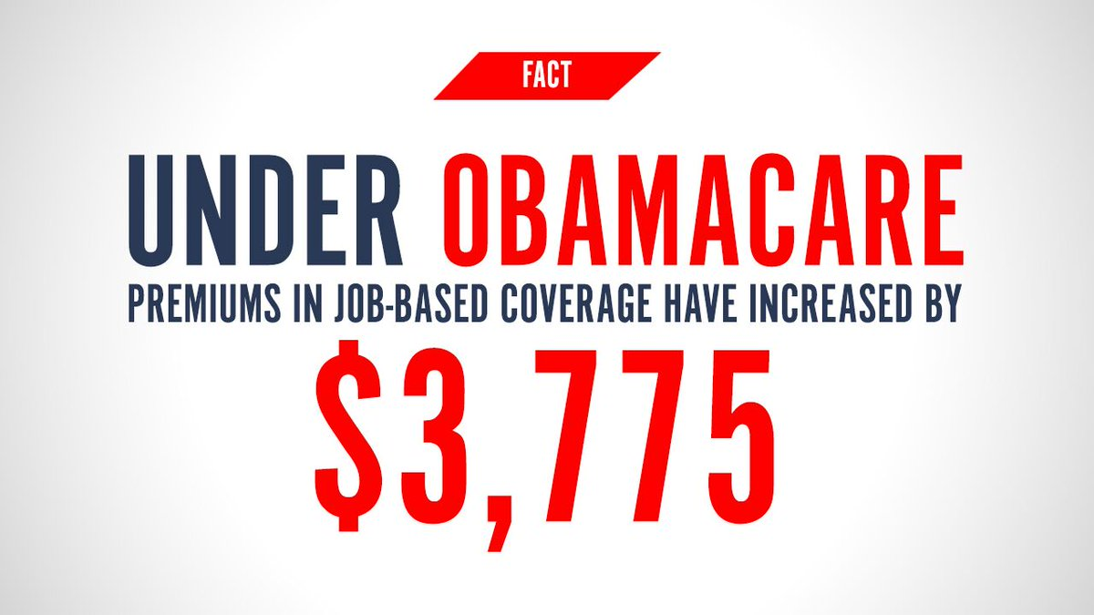 #Obamacare isn't working. Higher costs, lower coverage. There is a #BetterWay -> https://t.co/GpTVA76sgT https://t.co/crwPAFEOKY
