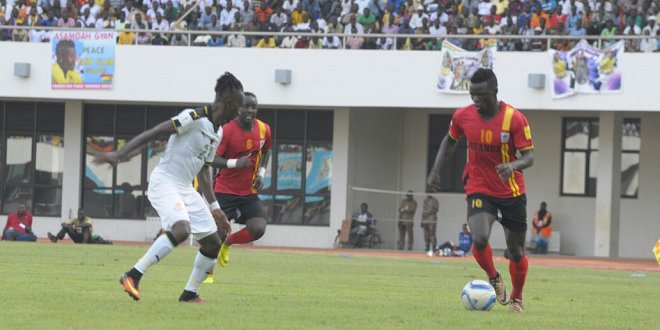 Video: Ghana vs Uganda