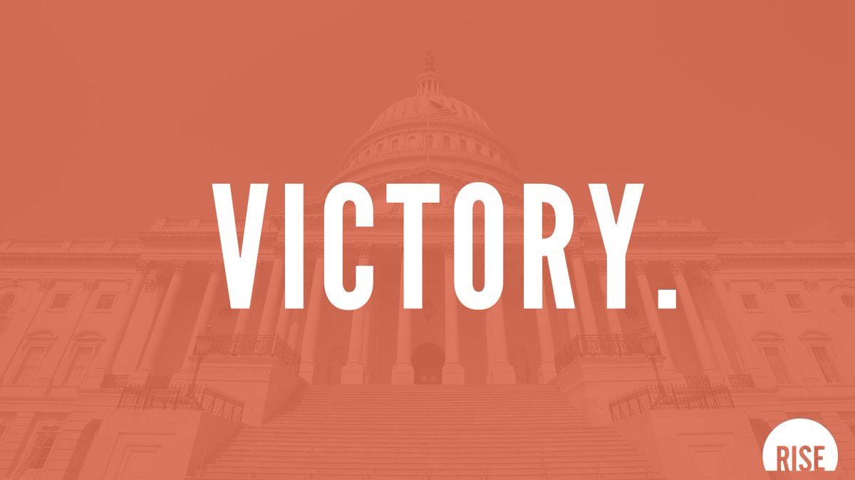 The @POTUS just signed our bill of rights into law. Today, 25 million survivors now have fundamental rights.