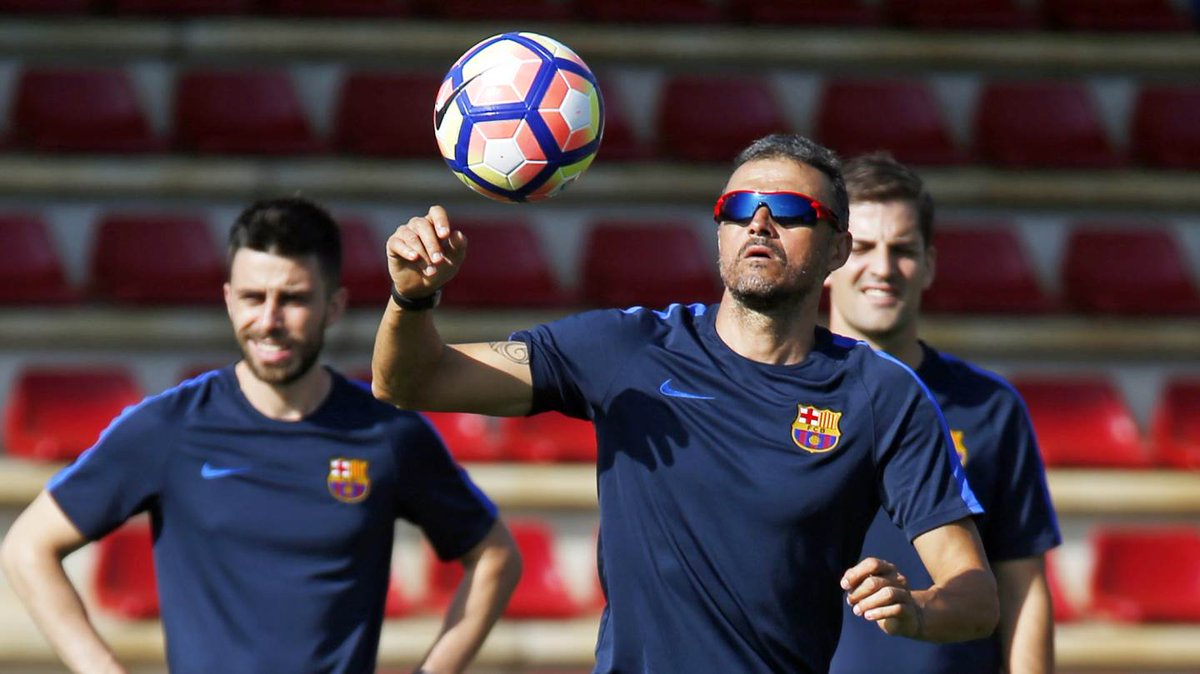 🎥 Luis Enrique's all action training sessions at the Ciudad Deportiva https://t.co/h3sJjqPe9I #SkillsFCB