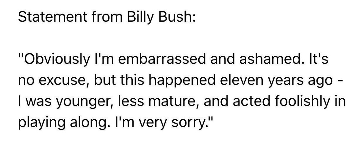 Truths about Billy Bush: 1. Some reporters act embarrassingly when courting sources. 2. Hot mics can haunt you. https://t.co/CZLkPFERMY