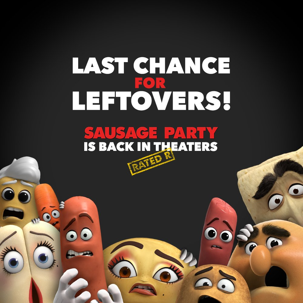 """Sausage Party Movie On Twitter: """"See Sausage Party Back In"""