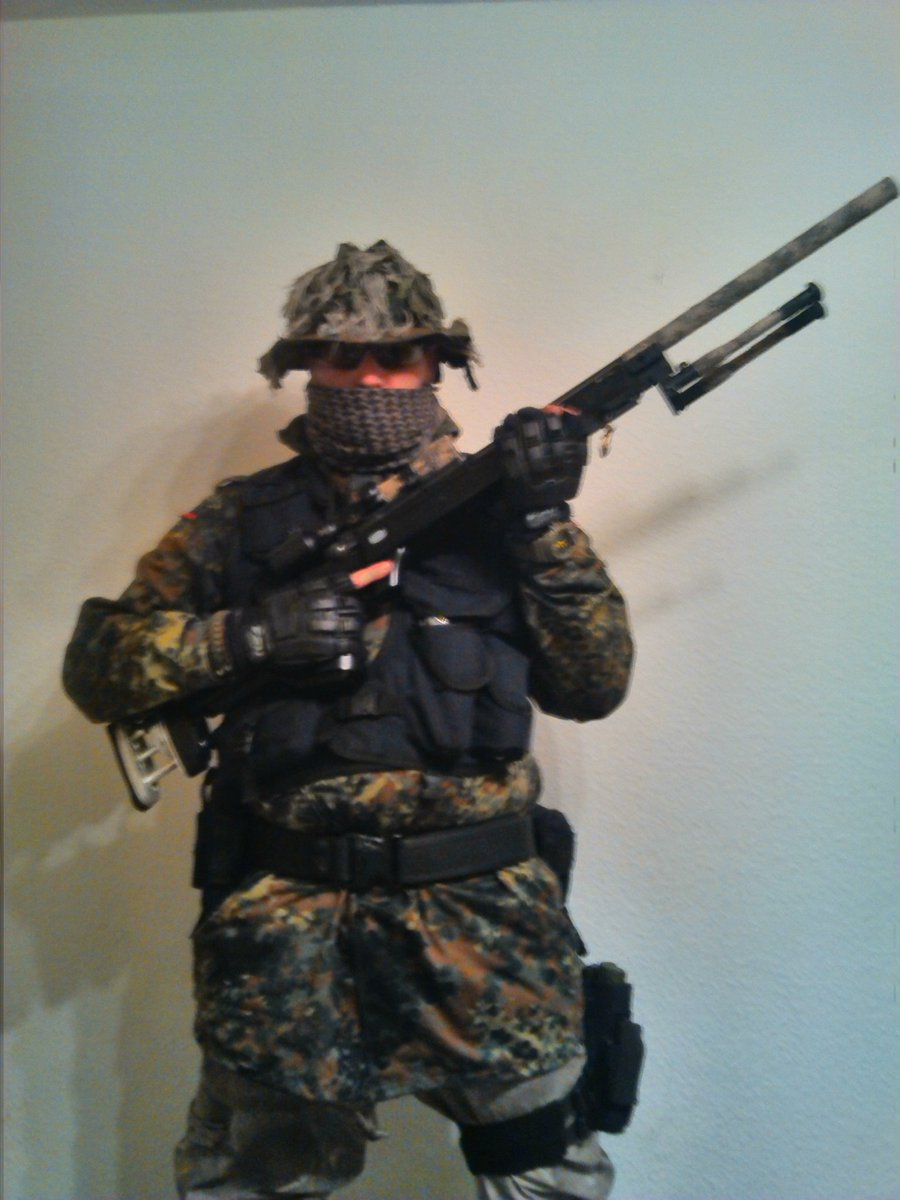 New gear !!! And new head! (Self made)   #airsoftisnotacrime pic.twitter.com/K3hpJw47l2