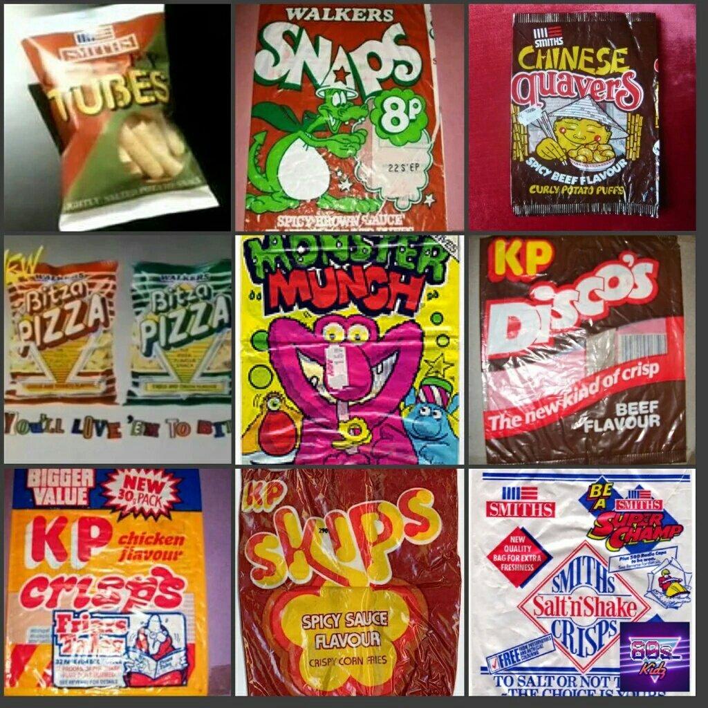 80s Kidz On Twitter 80s Crisps Ok Some Are Still