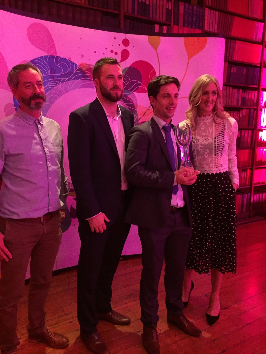 The @RTEDigital Best startup  #DotieNetVis award goes to @wiaio ! Great work ! https://t.co/PU6AYBoWnH