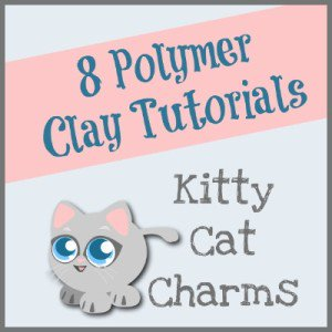 The Cutest DIY Polymer Clay Kitty Cats diy cute kawaii
