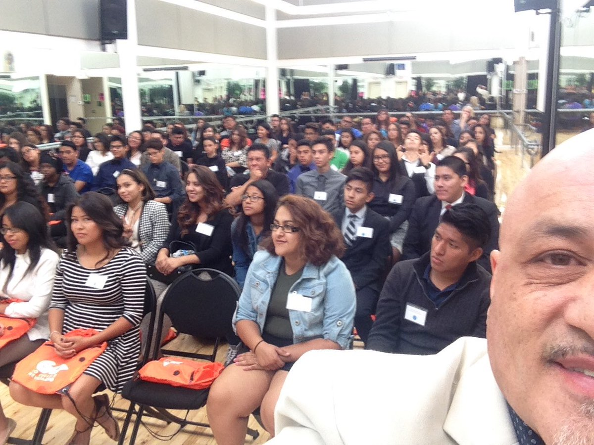 .@LatinoTownhall is glad to be part of helping #Latino youth go to the next level. #mentoring https://t.co/bT4xoPo7AM