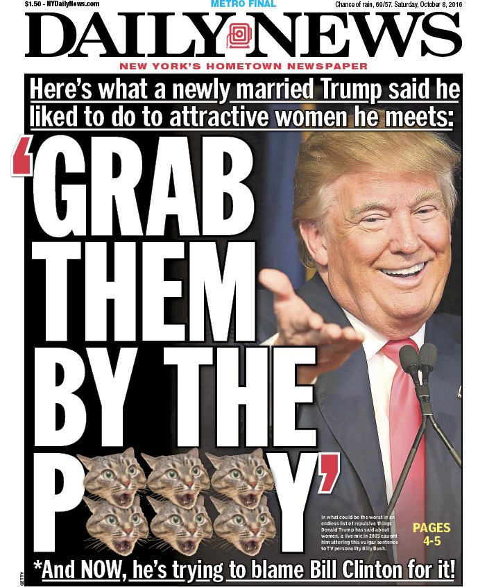 an opinion on the newspaper articles regarding the presidency of donald trump on the topic of sexual