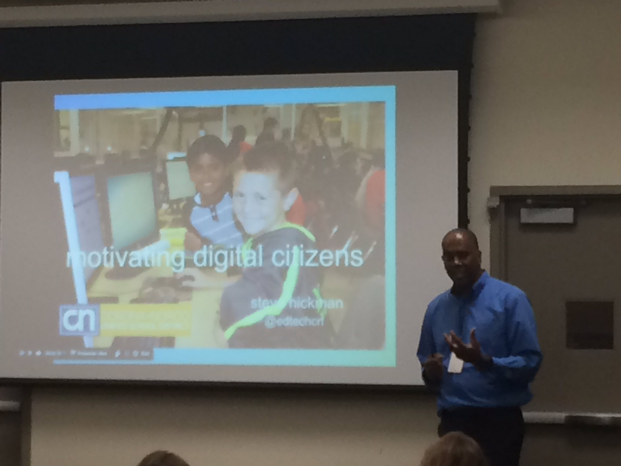 .@edtechcn presenting on Digital Citizenship at #2016DML (w/ @SueThotz) https://t.co/C4FOpmytET