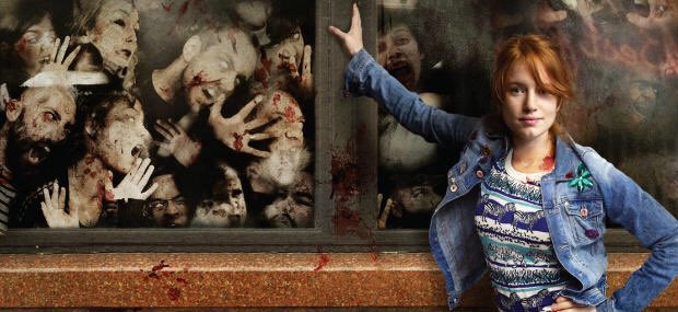 6 NIGHT OF THE LIVING DEB: One night stand goes awry in the zombie apocalypse. Enjoying this way more than I expected.. #31HorrorFilms31Days https://t.co/oDorN2wnQp