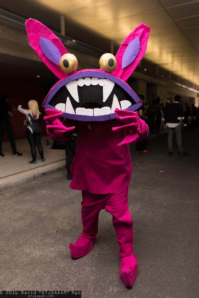 Dtjaaaam On Twitter Aaahhh It S The Brownranger As Ickis From Aaahh Real Monsters Cosplay Newyorkcomiccon Nycc