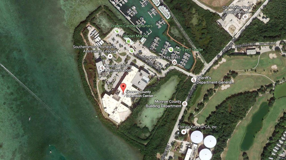 Key West inmate dies at Stock Island Detention Center bit ly