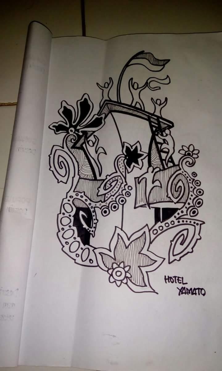 Infosurabaya On Twitter Motif Sketsa Batik Surabaya Ala Rumah