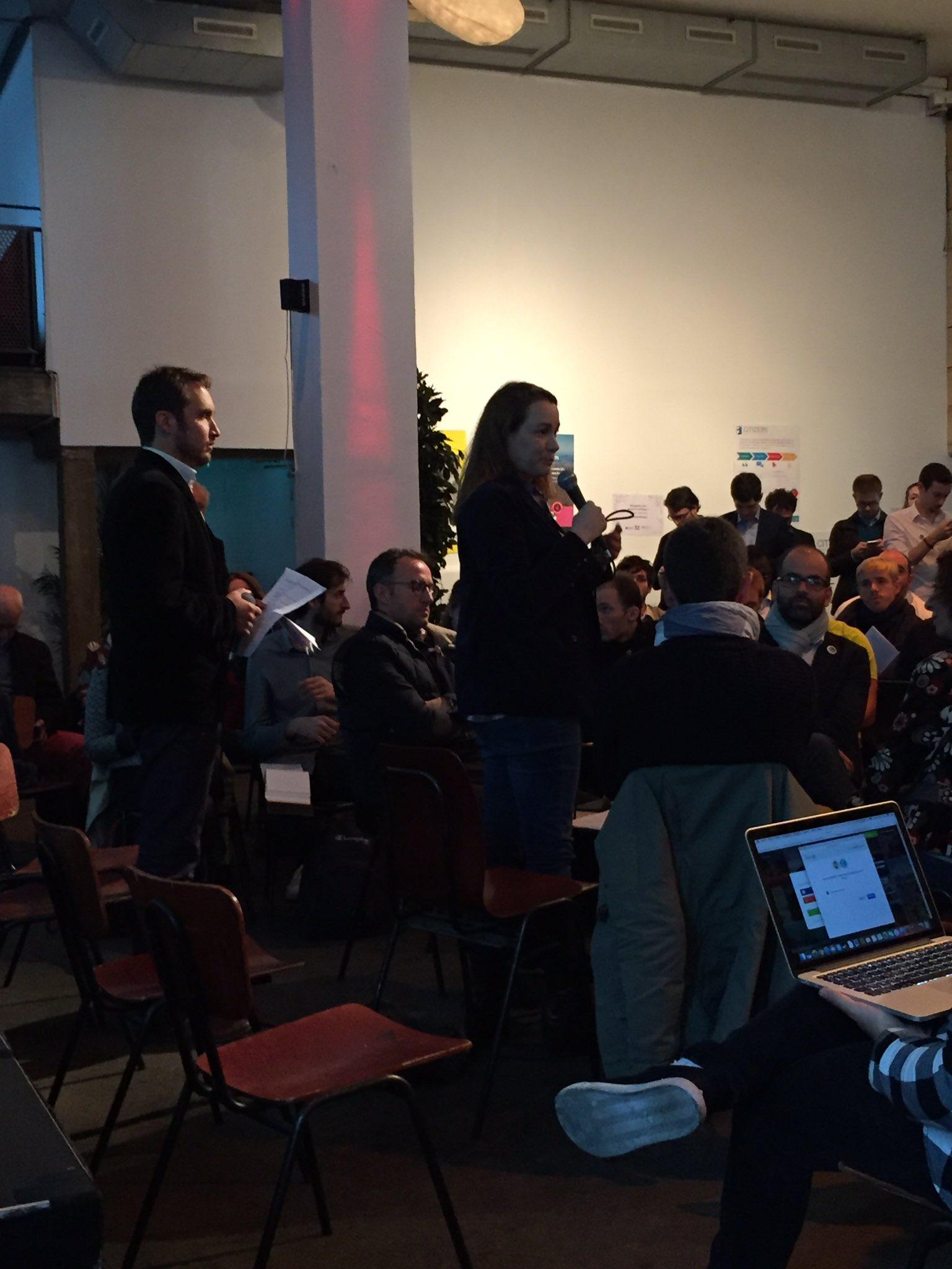 Intervention de @axellelemaire à #Geekspolitiques à @labellevilloise @armel_lecoz #numerique #civictech @OpenGovFr https://t.co/8zHAOVfQFL