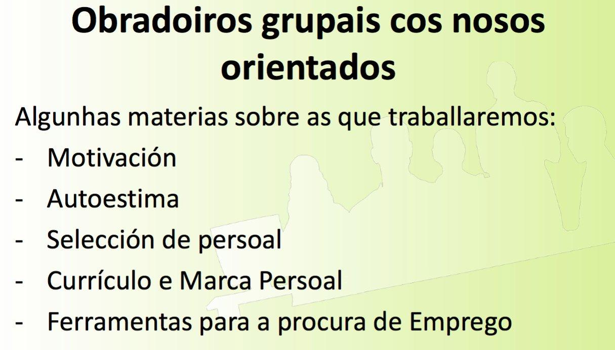 Que podemos traballar c@s orientad@s nunha dinámica grupal #POLAB16 #DinámicaGrupal https://t.co/RBVEiZLQcn