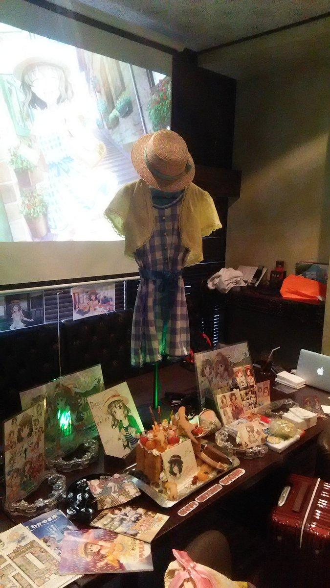 祭壇 #並木芽衣子生誕祭オフ2016 https://t.co/yjb3ZRjoln
