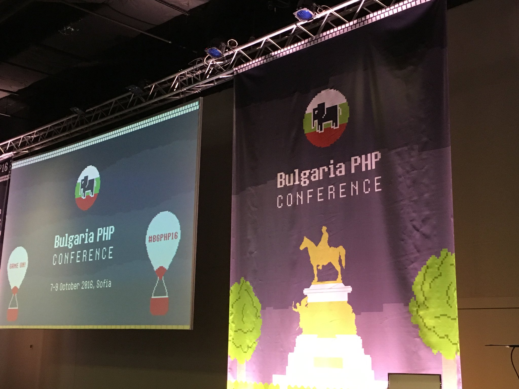 BGPHP 2016 stage just before the opening remarks