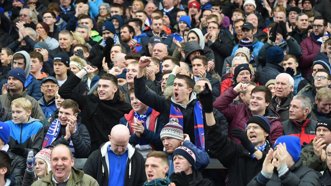 CARLISLE: For the second time this season, United's travelling fans will outnumber the home fans today! https://t.co/LN9SnSI0Jo