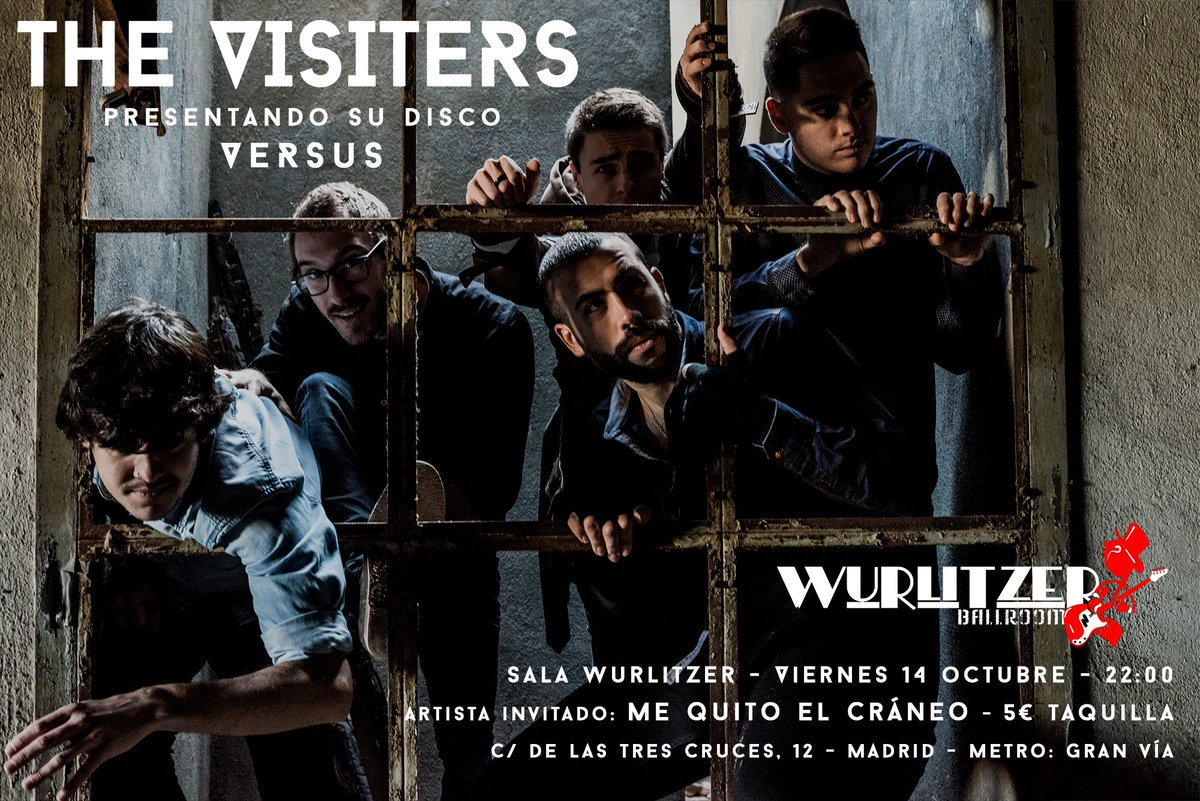 Concierto de The Visiters en Wurlitzer Ballroom
