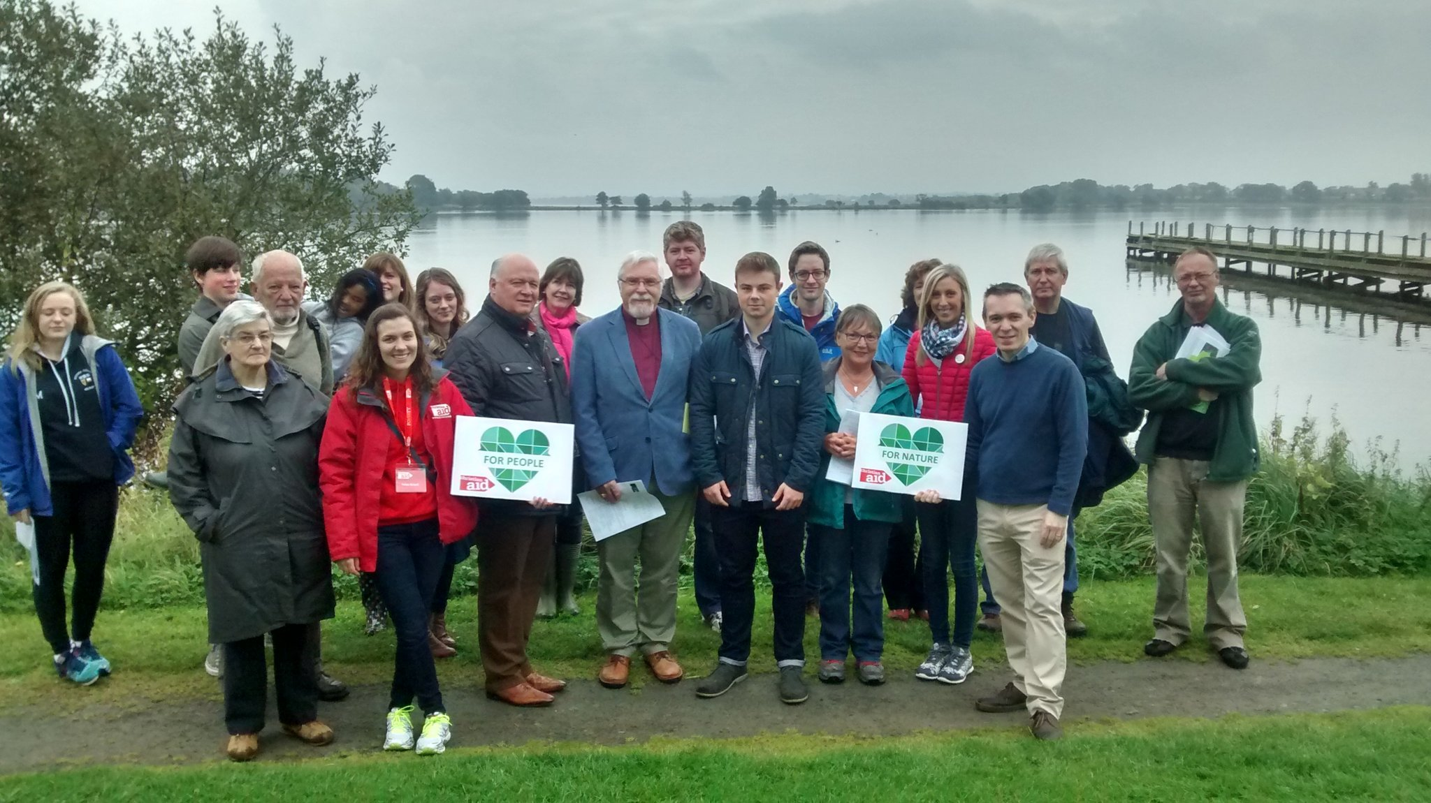 Great day to #SpeakUp for Nature and Clmate Change at Oxford Island with @DavidSimpsonDUP & @carlalockhart. @TheCCoalition @ChristianAidIrl https://t.co/GkRok8BqyR