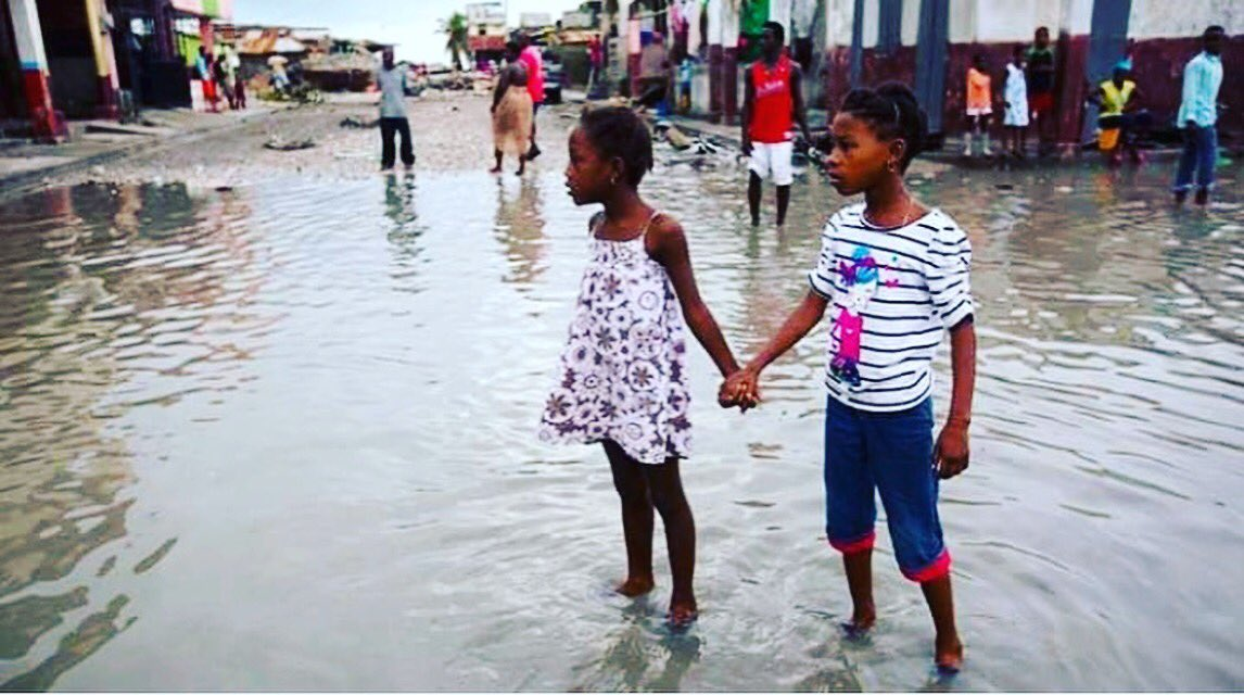 Over 800 people dead and thousands displaced in Haiti from the hurricane. Words can't express the heartbreak.