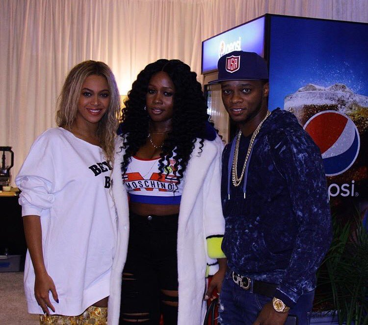 Beyoncé's powerful, man. PAPOOSE HAS NEVER SMILED.  https://t.co/raojO3qksY