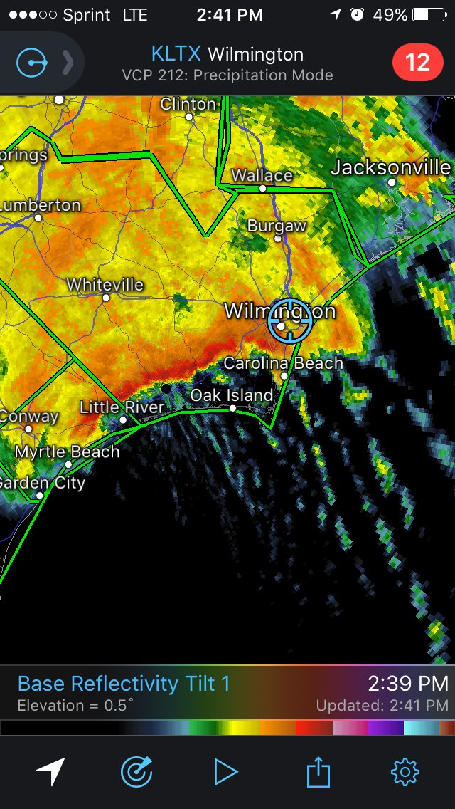 Mark Sudduth On Twitter The Kind Of Rain That Is Coming Across