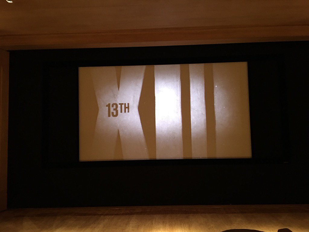 Watching 13th @netflix @AVAETC right now with friends. My 3d time. #SoPOWERFUL https://t.co/xOmYDJHOku