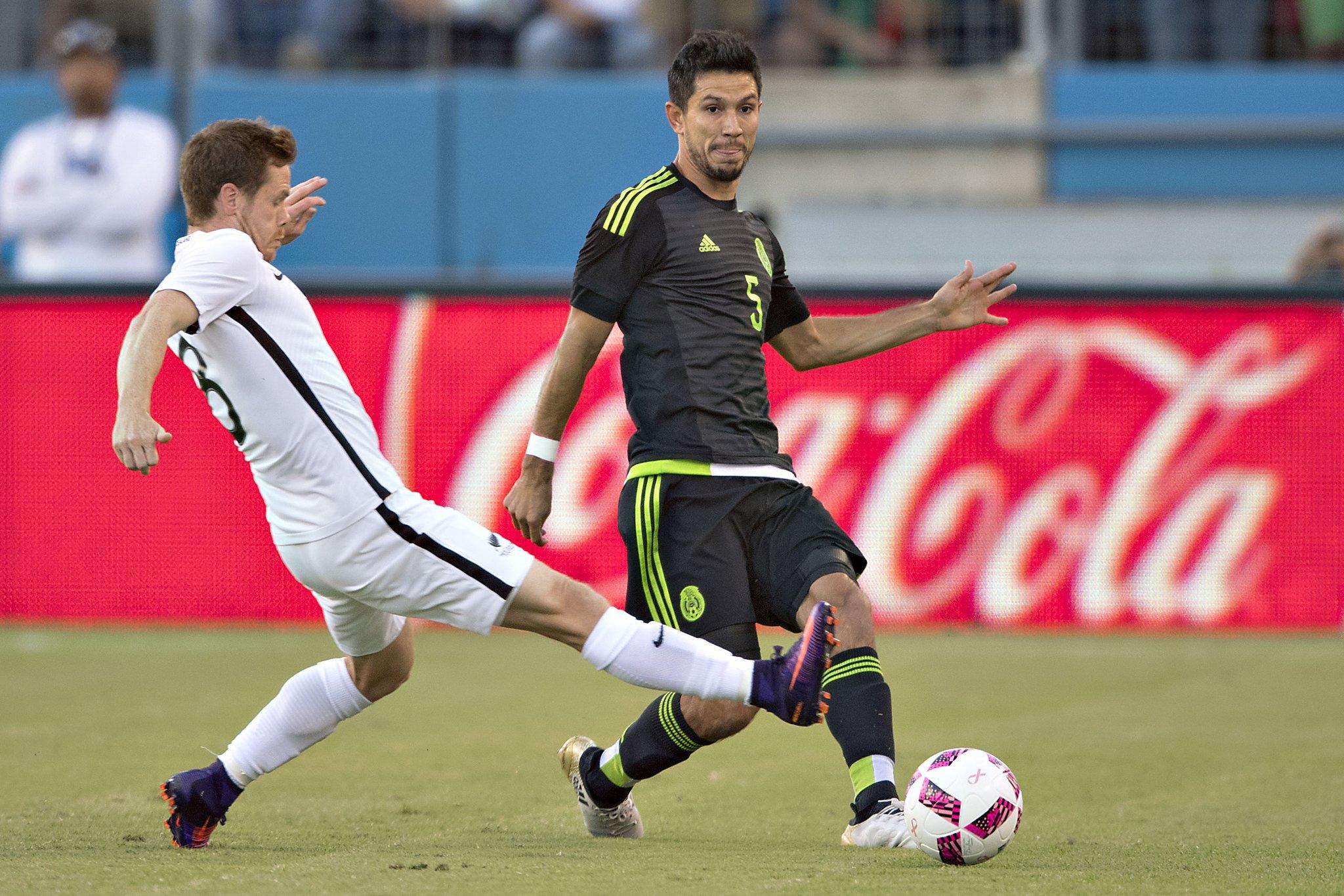 Jesús Molina con la Selección Mexicana