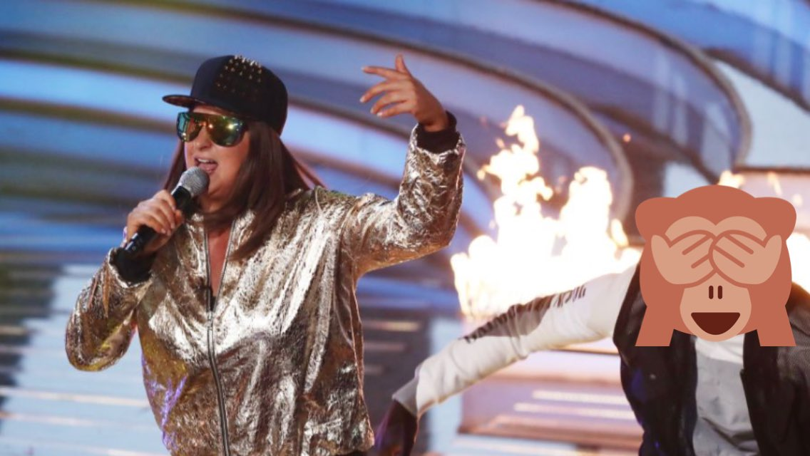 """Big up Mrs O""  @The_Honey_G KILLED California Love ""Its like Missy Elliott does jacket potato."" #XFactor https://t.co/7wfRADKSRW"