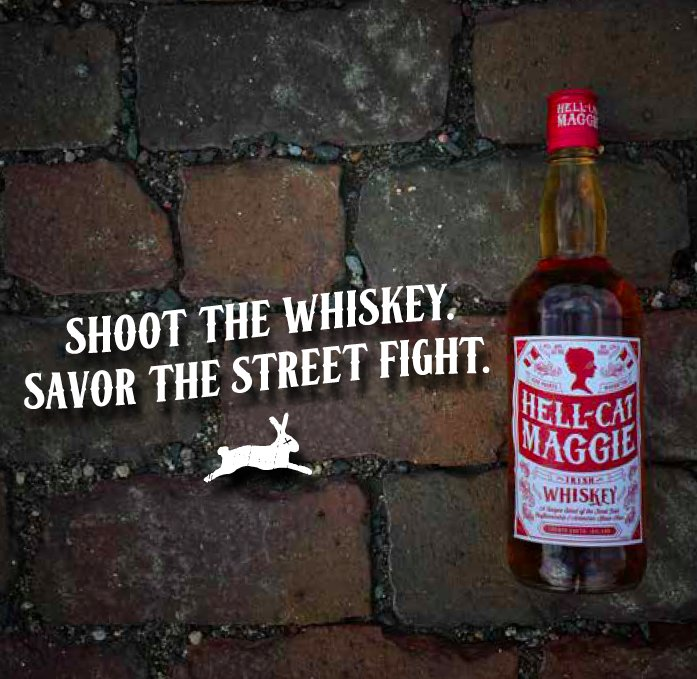 Words to live by. #hellcatmaggie #whiskey https://t.co/7XD5MrM75E