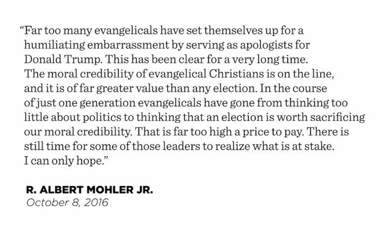 Breaking: The Wall Street Journal on evangelicals and Donald Trump. Includes my comments. https://t.co/UH3VF9C9r4 https://t.co/hJuSXZNlAO