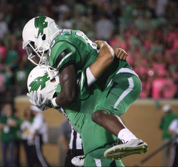 FINAL: North Texas 38, Marshall 21.  The Mean Green improve to 3-3 and 2-1 in C-USA entering their bye-week. https://t.co/Ec2n7hM81q