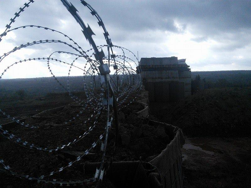 В Минобороны заявили, что разведение войск в Станице Луганской перенесено из-за обстрелов боевиков - Цензор.НЕТ 304