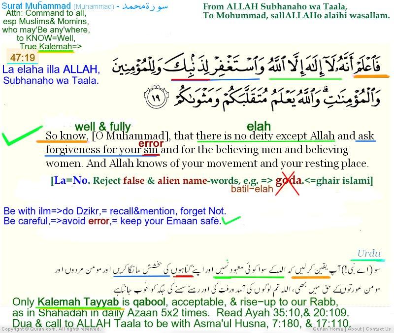 Quran & Hadith on Twitter: